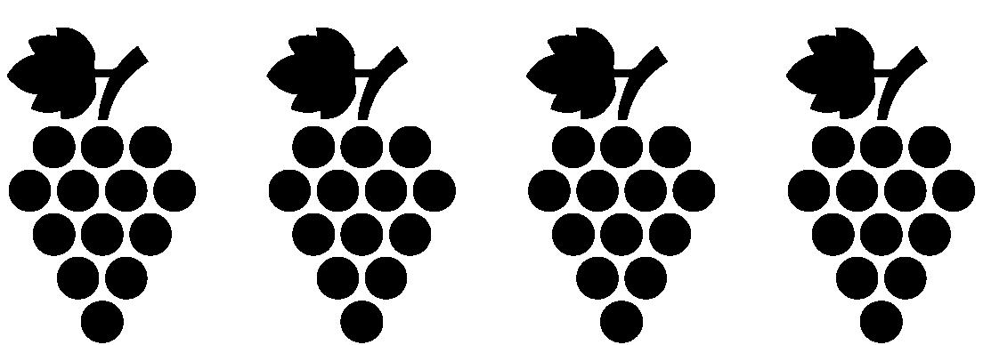 4 Trauben